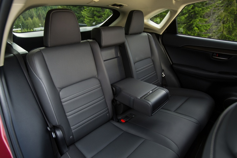 2017 Lexus NX300h Rear Seats Picture