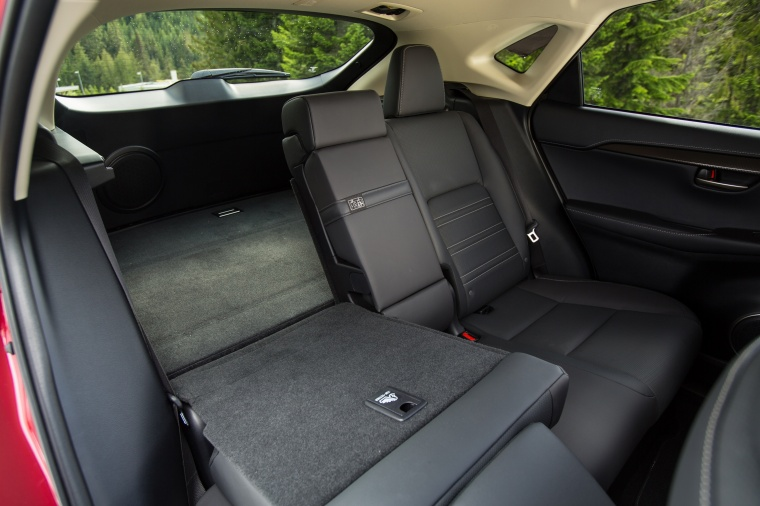 2017 Lexus NX300h Rear Seats Folded Picture