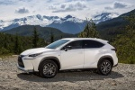 2017 Lexus NX200t F-Sport in Eminent White Pearl - Static Side View