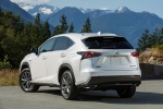 2017 Lexus NX200t F-Sport in Eminent White Pearl - Static Rear Left View