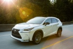 2017 Lexus NX200t F-Sport in Eminent White Pearl - Driving Front Left Three-quarter View