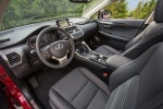 Picture of 2017 Lexus NX300h Front Seats in Black