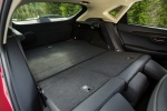 Picture of 2017 Lexus NX300h Rear Seats Folded in Black