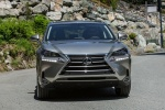 2017 Lexus NX200t in Atomic Silver - Driving Frontal View
