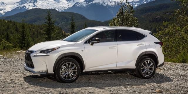 2017 Lexus NX Pictures