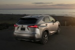 2018 Lexus NX300 in Atomic Silver - Static Rear Right View