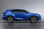 2018 Lexus NX300 F-Sport in Ultrasonic Blue Mica 2.0 - Static Side View