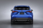 2018 Lexus NX300 F-Sport in Ultrasonic Blue Mica 2.0 - Static Rear View