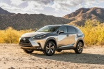 2018 Lexus NX300h in Atomic Silver - Static Front Left Three-quarter View