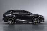 2018 Lexus NX300h in Caviar - Static Side View