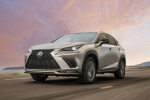 2018 Lexus NX300 in Atomic Silver - Driving Front Left View