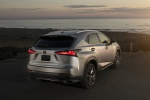 2019 Lexus NX300 in Atomic Silver - Static Rear Right View