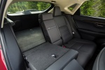 Picture of a 2019 Lexus NX300h's Rear Seat Folded