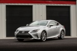 2015 Lexus RC350 F-Sport in Silver Lining Metallic - Static Front Left Three-quarter View