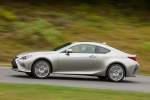 2015 Lexus RC350 F-Sport in Nebula Gray Pearl - Driving Left Side View