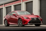 2015 Lexus RC350 F-Sport in Infrared - Static Front Right View