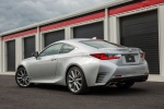 2015 Lexus RC350 F-Sport in Silver Lining Metallic - Static Rear Left Three-quarter View
