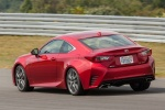 2015 Lexus RC350 F-Sport in Infrared - Driving Rear Left View
