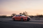 2015 Lexus RC-F in Molten Pearl - Static Front Right Three-quarter View