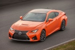 2015 Lexus RC-F in Molten Pearl - Static Front Left Top View