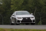 2015 Lexus RC-F in Silver Lining Metallic - Driving Frontal View