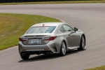 2015 Lexus RC350 F-Sport in Nebula Gray Pearl - Driving Rear Right View