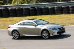 2015 Lexus RC350 F-Sport in Nebula Gray Pearl - Driving Right Side View