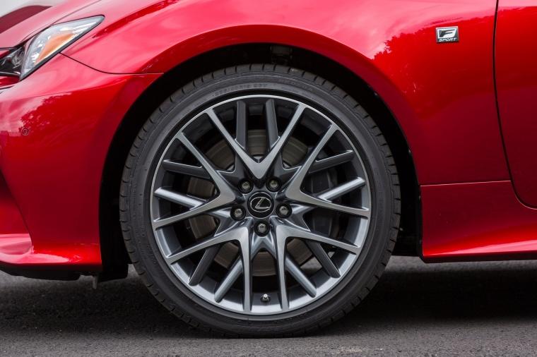 2016 Lexus RC350 F-Sport Rim Picture