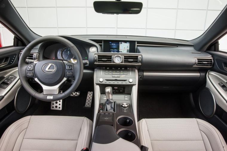 2016 Lexus RC350 F-Sport Cockpit Picture