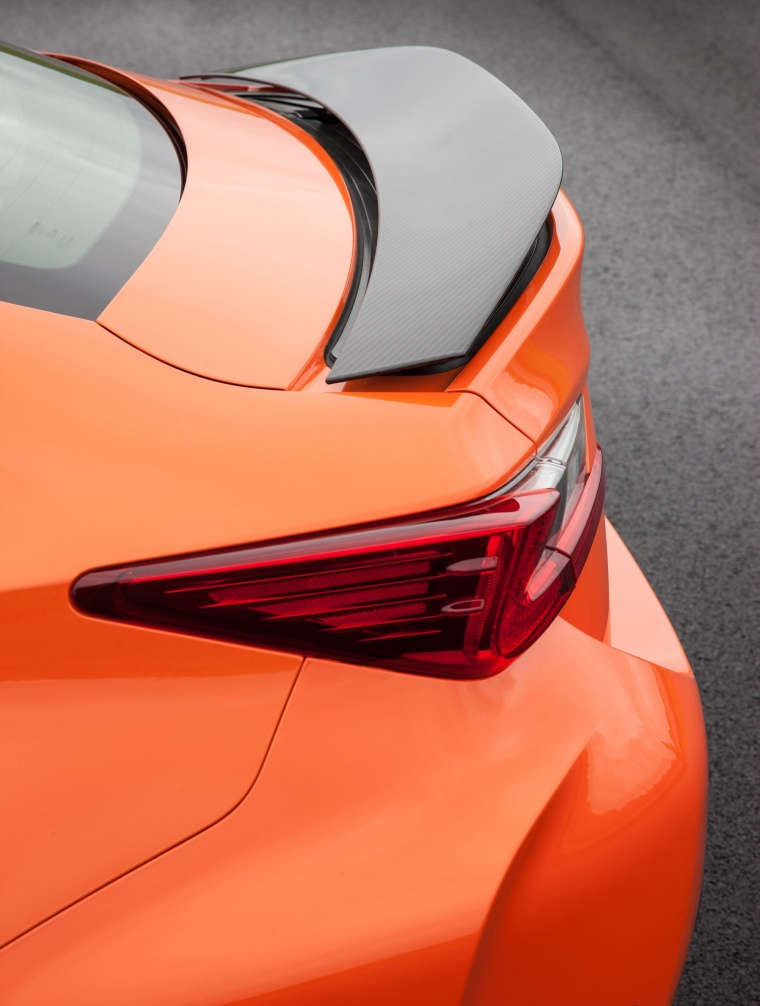 2016 Lexus RC-F Rear Wing Picture