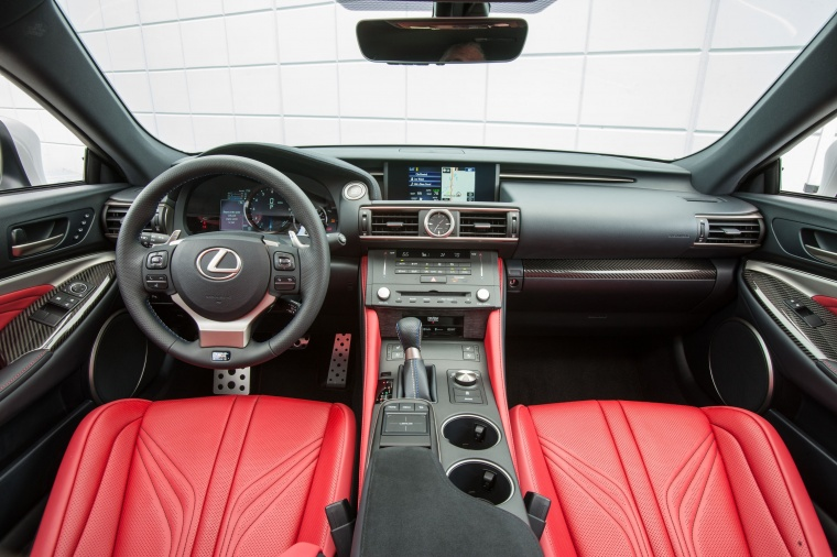 2016 Lexus RC-F Cockpit Picture