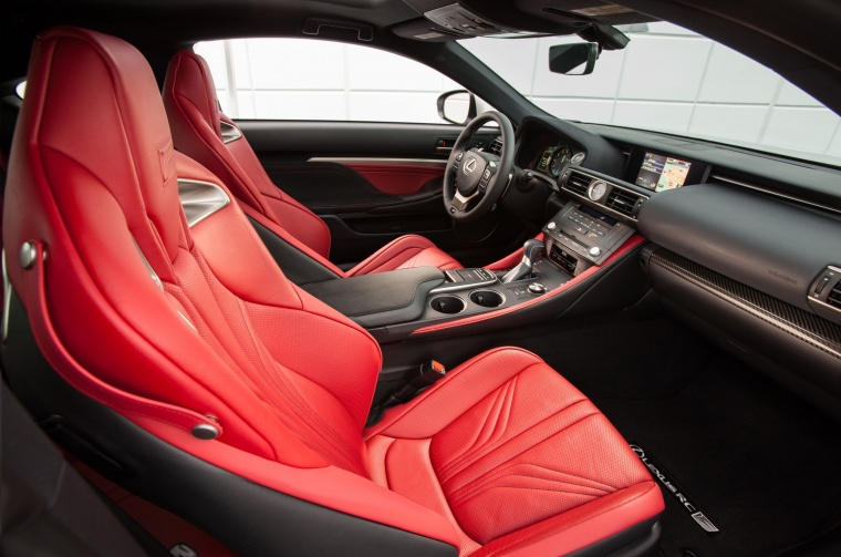 2016 Lexus RC-F Front Seats Picture