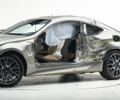 2016 Lexus RC IIHS Side Impact Crash Test Picture