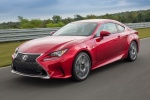 2016 Lexus RC350 F-Sport in Infrared - Driving Front Left View