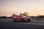 2016 Lexus RC-F in Molten Pearl - Static Front Right Three-quarter View