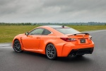 2016 Lexus RC-F in Molten Pearl - Static Rear Left Three-quarter View