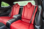 2016 Lexus RC-F Rear Seats