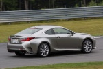 2016 Lexus RC350 F-Sport in Nebula Gray Pearl - Driving Rear Right Three-quarter View