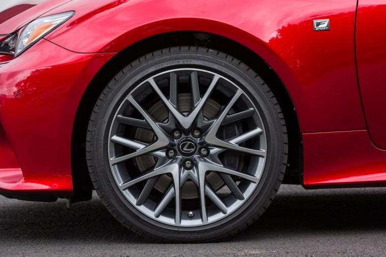 2017 Lexus RC350 F-Sport Rim Picture