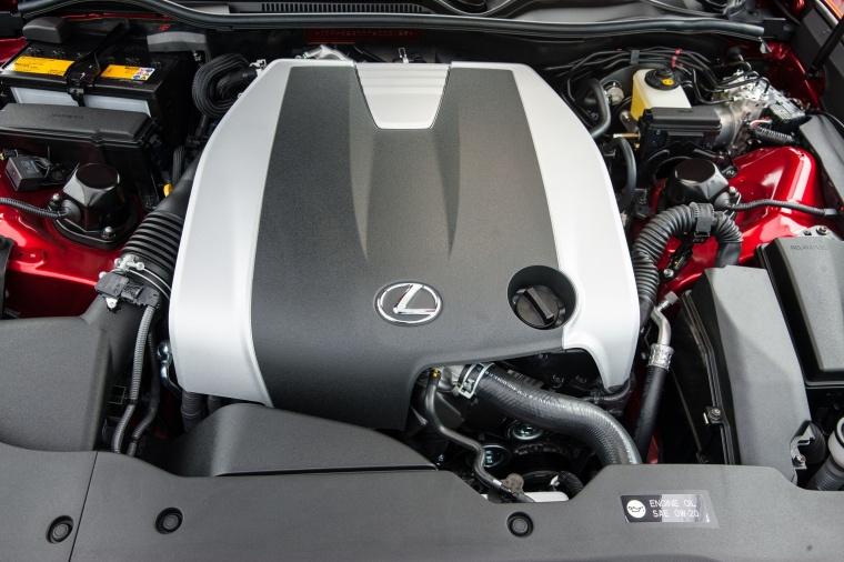 2017 Lexus RC350 F-Sport 3.5-liter V6 Engine Picture