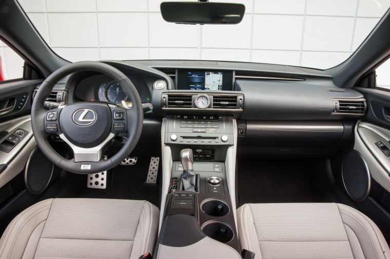 2017 Lexus RC350 F-Sport Cockpit Picture