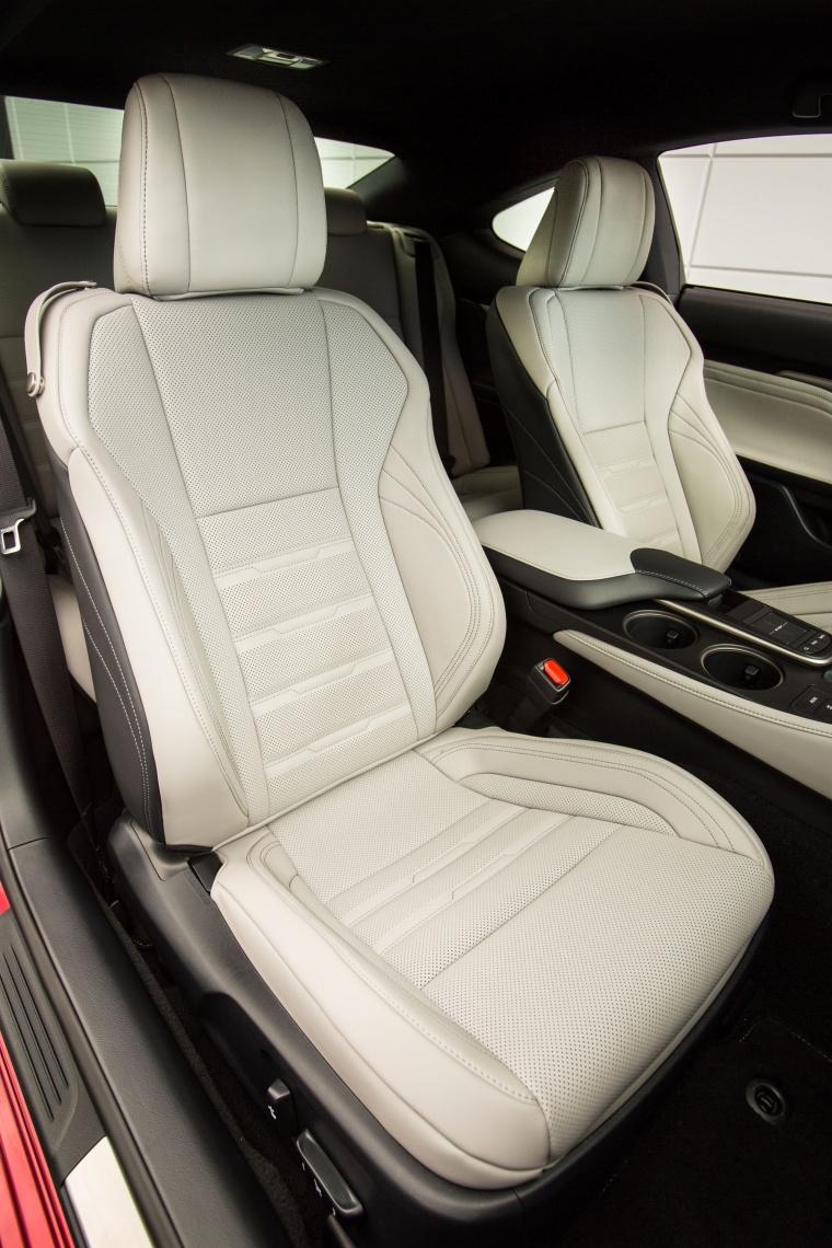 2017 Lexus RC350 F-Sport Front Seats Picture