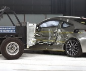 2017 Lexus RC IIHS Side Impact Crash Test Picture