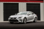 2017 Lexus RC350 F-Sport in Silver Lining Metallic - Static Front Left Three-quarter View