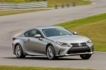 2017 Lexus RC350 F-Sport in Nebula Gray Pearl - Driving Front Right Three-quarter View