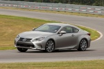 2017 Lexus RC350 F-Sport in Nebula Gray Pearl - Driving Front Left Three-quarter View