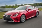 2017 Lexus RC350 F-Sport in Infrared - Driving Front Left View