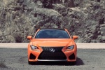 2017 Lexus RC-F in Molten Pearl - Static Frontal View