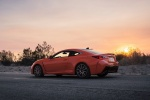 2017 Lexus RC-F in Molten Pearl - Static Rear Left Three-quarter View