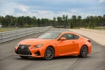 2017 Lexus RC-F in Molten Pearl - Static Front Left Three-quarter View